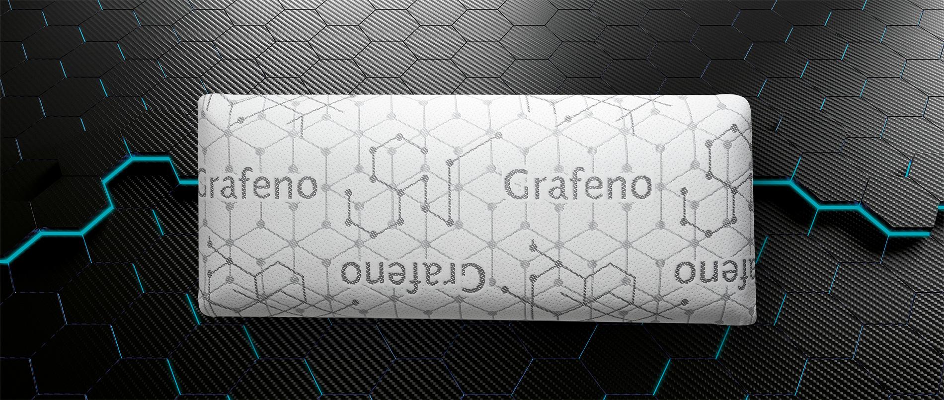 LUFTHOUS - ALMOHADA MEMORY LUXE PREMIUM GRAFENO - PRODUCTOS LUFTHOUS