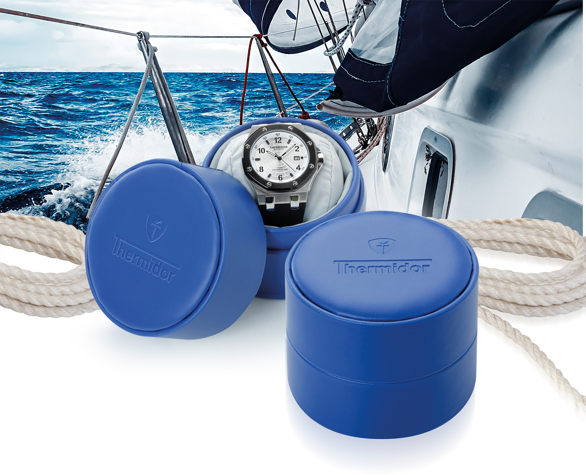 PRODUCTOS LUFTHOUS - RELOJES YACHT MARINE - LUFTHOUS - RELOJES - THERMIDOR