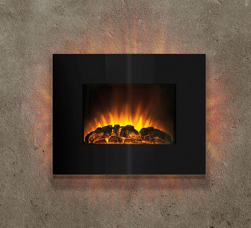BOHEME FLAME ELECTRIC FIREPLACE