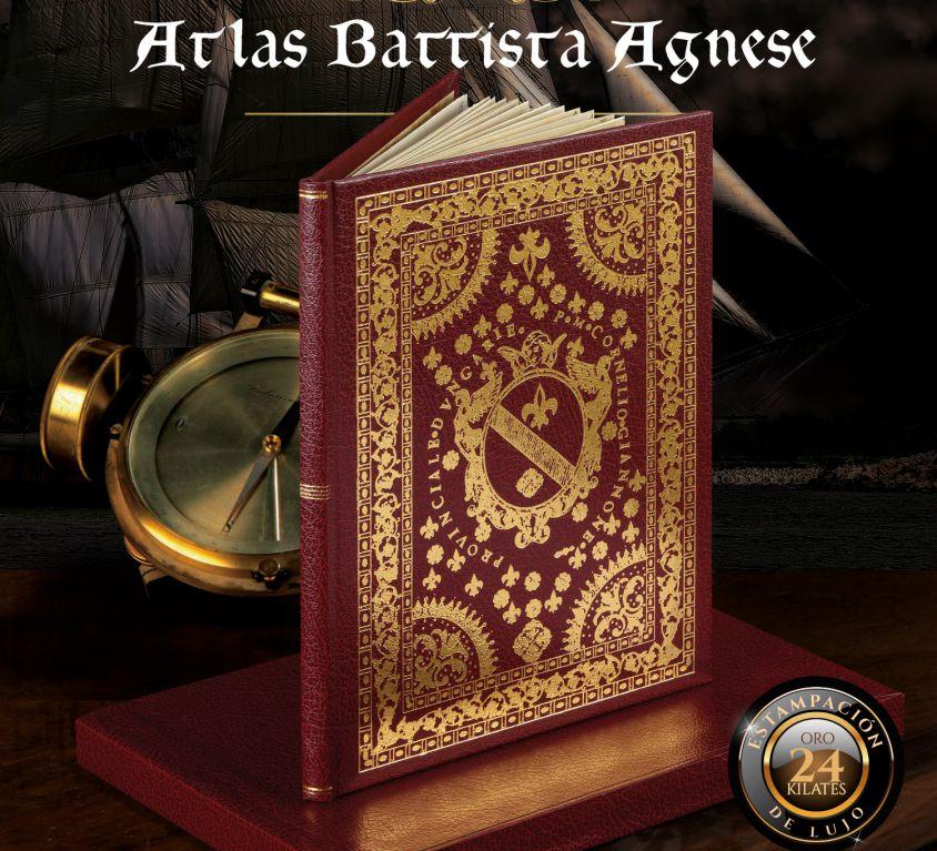 EDICIÓN FACSÍMIL ATLAS BATTISTA AGNESE