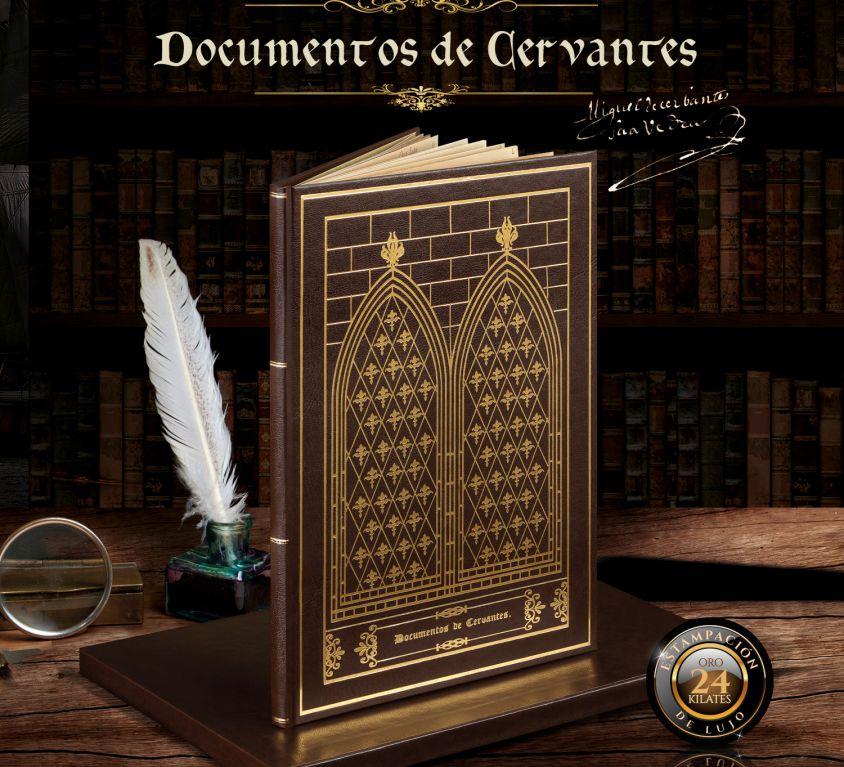 EDICIÓN FACSÍMIL DOCUMENTOS DE CERVANTES